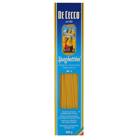 De Cecco Spaghettini - 500g