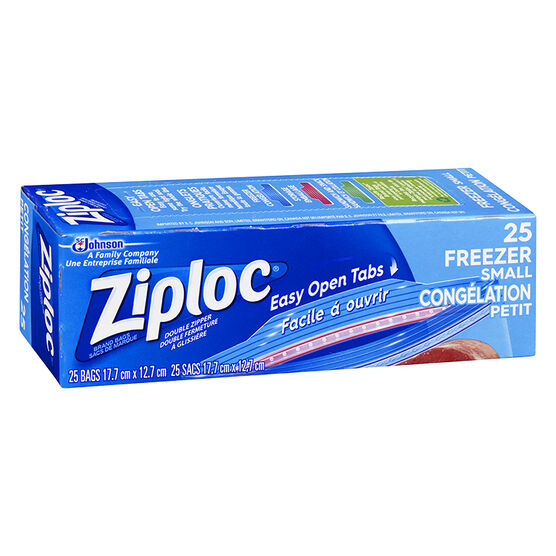 Ziploc Freezer Guard Bags - Small - 25's