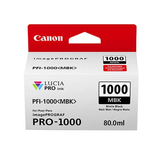 Canon PFI-1000 Prograf PRO-1000 Lucia Photo Printer Ink - Matte Black - 0545C002