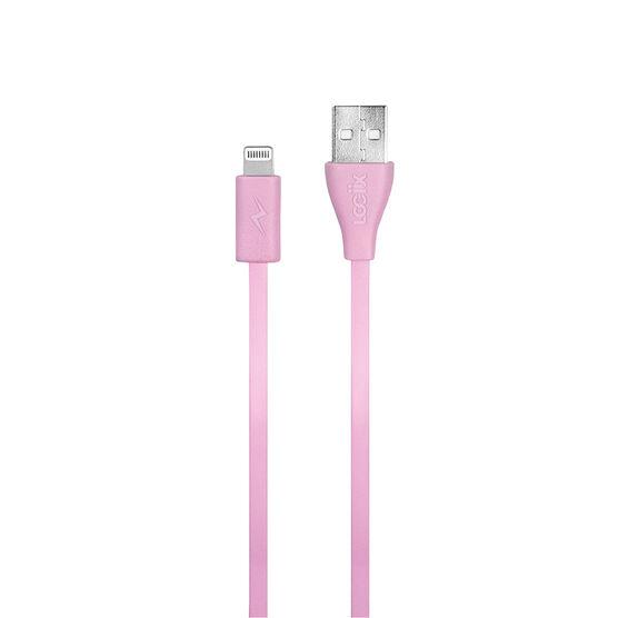 Logiix Flat Flex Jolt Lightning Cable - Limited Edition - Rose - LGX12211