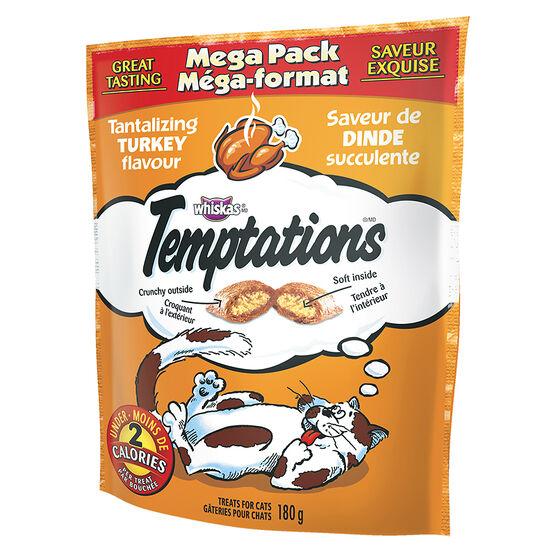 Whiskas Temptation Mega Pack - Tantalizing Turkey - 180g