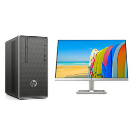 HP Pavilion 590-A0009 Desktop Computer with HP 23F 23inch Monitor - PKG #13841