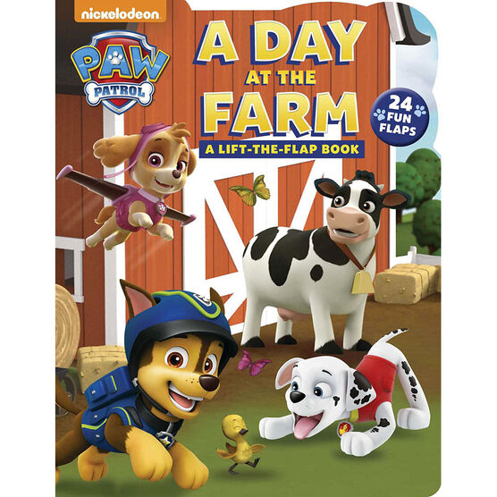 Paw Patrol a Day The Farm by Cara Steven & Mike Jackson