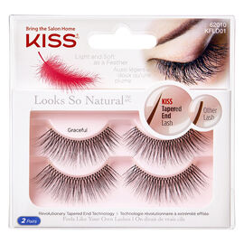 Kiss Looks So Natural Lash Double Pack