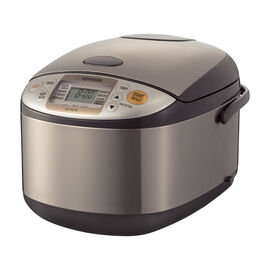 Zojirushi Rice Cooker - Brown - 10 cups - NS-TSC18
