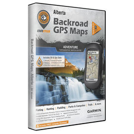 Backroad GPS Maps - Alberta - 00914