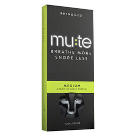 Mute Breathe More Snore Less Nasal Device - Medium - 3's
