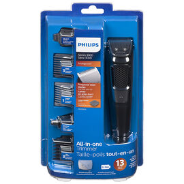 Philips 3000 Series All-in-one Trimmer - Black - MG3750/10