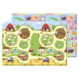 Baby Care Soft Playmat - Busy Farm - Medium