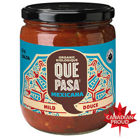 Que Pasa Organic Mexicana Salsa - Mild - 420ml