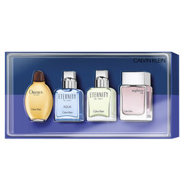 Calvin Klein Men's Fragrance Set - 4 piece