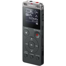 Sony 4GB+SD Voice Recorder - Black - ICDUX560BLK