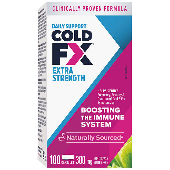 Cold-FX Extra - 300mg - 100's