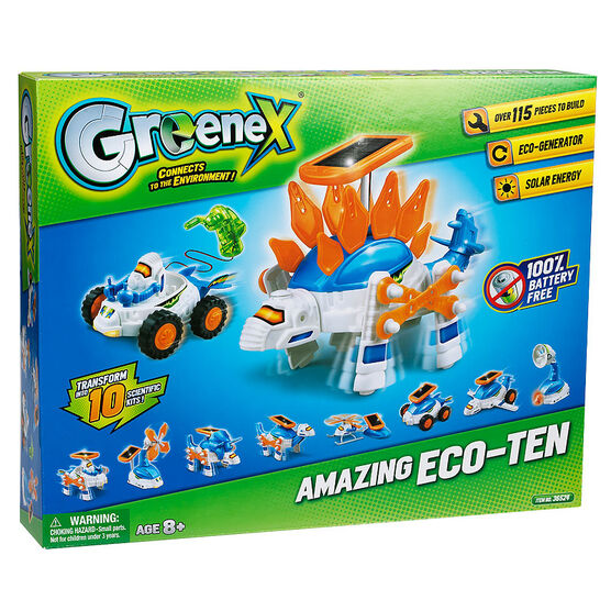 GreeneX Connects to the Environment - Amazing Eco-Ten