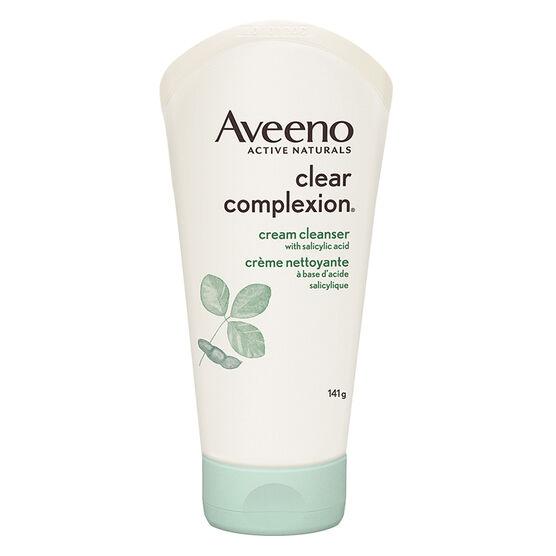 Aveeno Clear Complexion Cream Cleanser - 141g