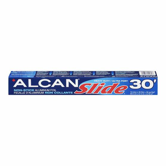 Alcan Aluminum Foil Wrap Slide - 12inches x 30ft.