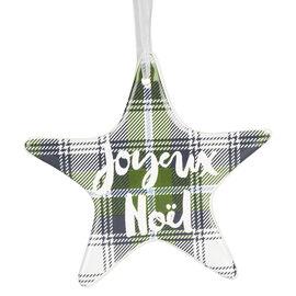 Juniper Forest Porcelain Star - 4in
