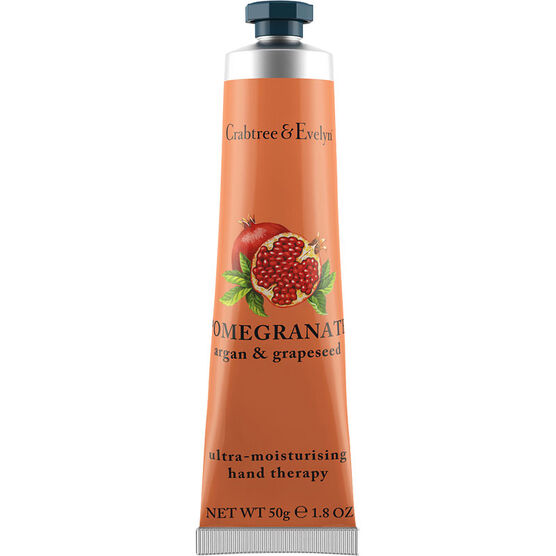 Crabtree & Evelyn Pomegranate, Argan & Grapeseed Ultra-Moisturising Hand Therapy - 50g