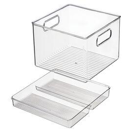 InterDesign Storage - 8 x 8 x 6in - 2 piece