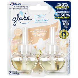 Glade Plug-Ins Oil Refills - French Vanilla - 2 pack