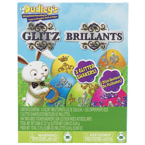 Dudley's Eggceptional Decorating Kit - Glitz