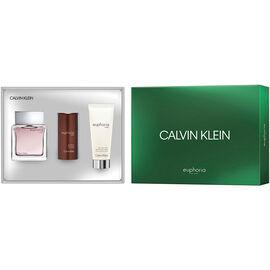 Calvin Klein Euphoria For Men Fragrance Set - 3 piece