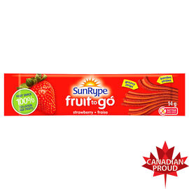 Sun-Rype Fruit To Go - Apple Strawberry - 14g