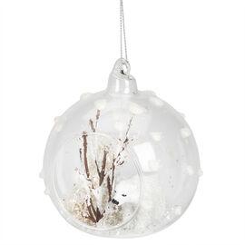 Juniper Forest Ball Ornament - Bear - 3.5in