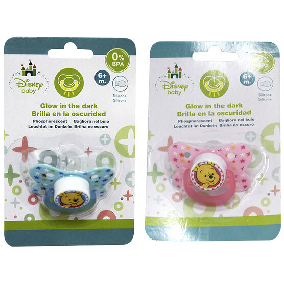 Winnie the Pooh Pacifier - 6+ months - Assorted