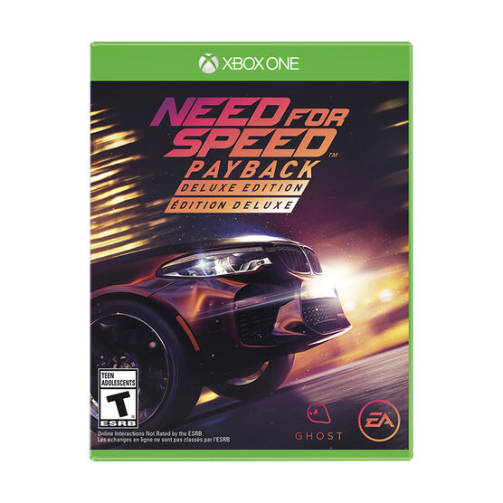 Xbox One Need for Speed Payback Deluxe