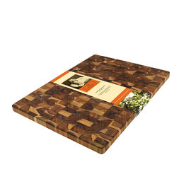 Mario Batali Large End Grain Chopping Block - 20 x 15inch