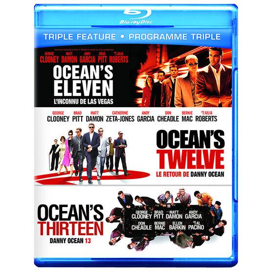 Ocean's Triple Feature - Blu-ray