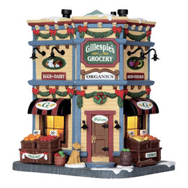 Lemax Battery Operated Gillespie's Grocery