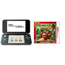 Nintendo New 2DSXL Gaming Console Bundle - Donkey Kong Country Returns