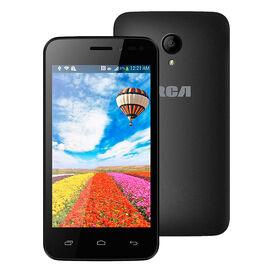 "RCA Dual Sim 4"" Unlocked Smartphone - Black - PLTP4028"