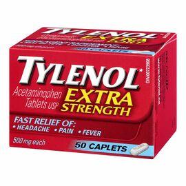Tylenol* Extra Strength Caplets - 50's