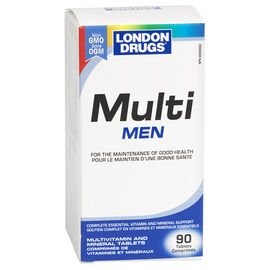 London Drugs Multi Men Multivitamin & Mineral Tablets - 90's