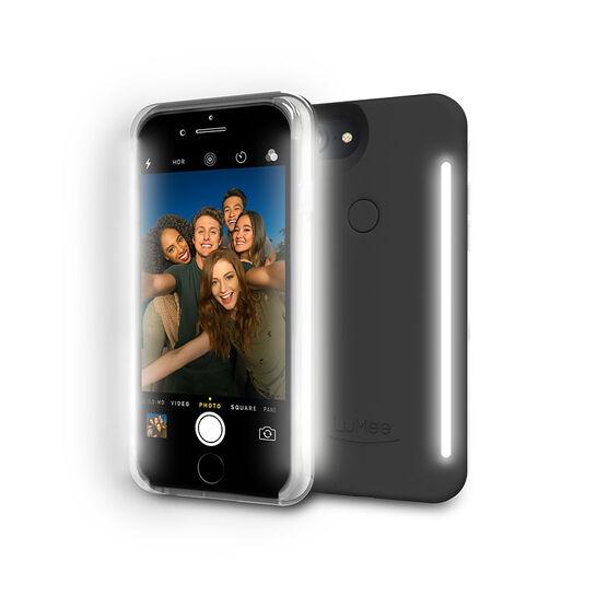 LuMee Duo Illuminating Case for iPhone 7 Plus - Black - LMLDIP7PLUSBLK