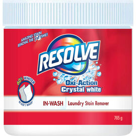Resolve Crystal White Powder Stain Remover - 765g