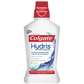 Colgate Hydris Dry Mouth Rinse - Hydra Mint - 500ml