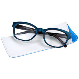 452edfaf7a2 Foster Grant Georgette Women s Reading Glasses - Teal - 2.00