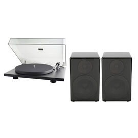 Pro-Ject Turntable PJ65188756 + Timbre Acoustics Bluetooth Speakers Package - PKG #14245