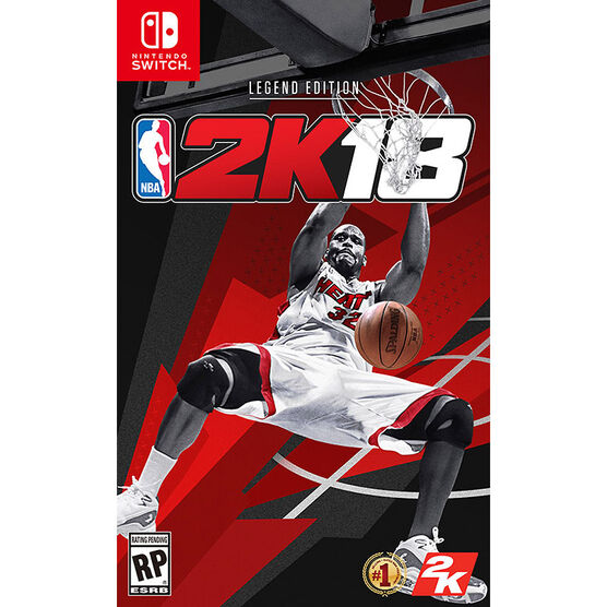 Switch NBA 2K18 Legend Edition