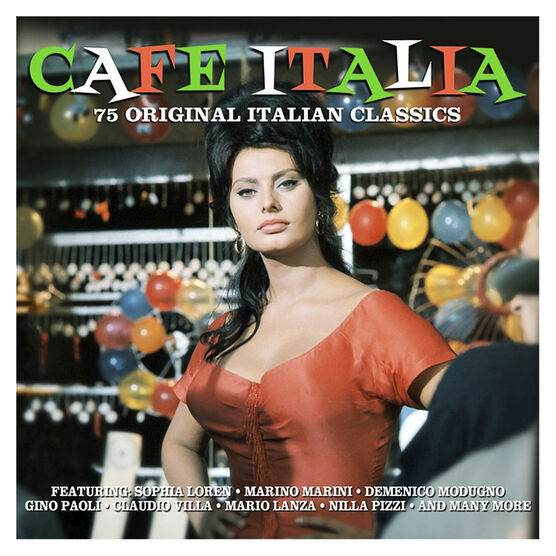 Various Artists - Cafe Italia - 3 CD