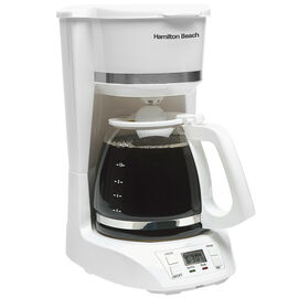 Hamilton Beach 12 Cup Digital Coffee Maker - White - 43871
