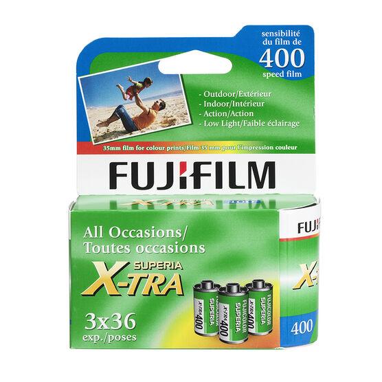 Fujicolor Superia X-TRA400 - 3x36 exp. - 600017861