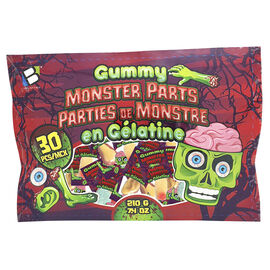 Brands Unlimited Gummy Monster Parts - 30 Pieces
