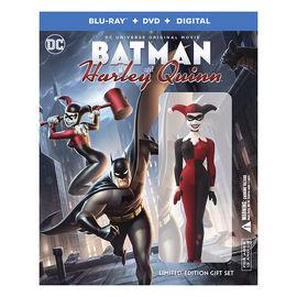 DC Universe: Batman and Harley Quinn - Blu-ray