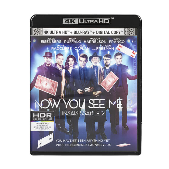 Now You See Me 2 - 4K UHD Blu-ray
