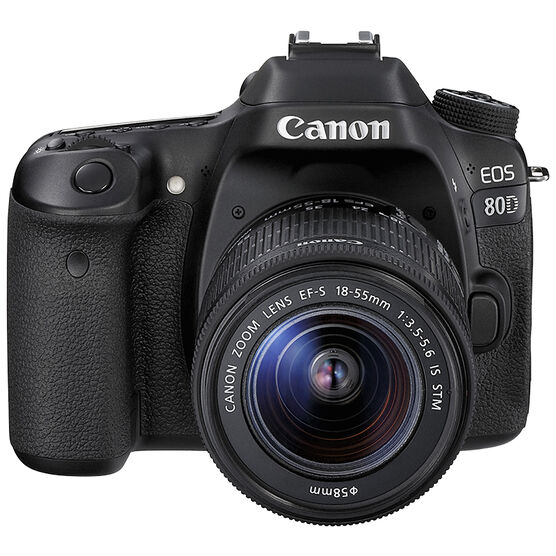 Canon EOS 80D with 18-55mm IS STM Lens - 1263C008